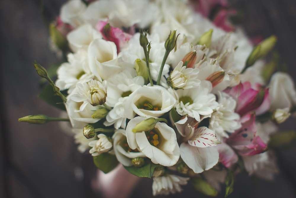 Цветы доставкой, альстромерия букет невесты фото