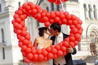 Серця для влюблённых для декорации зала