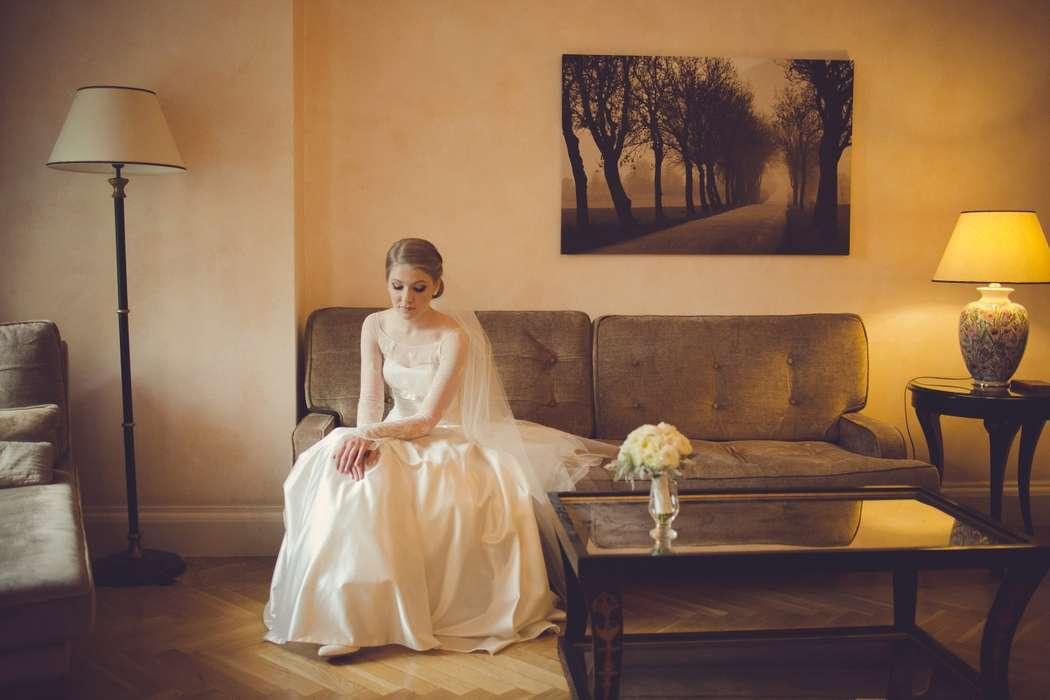 Невеста Ксения - фото 3511077 Viktoria Kharavets парикмахер-стилист