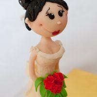 Фигурка невесты