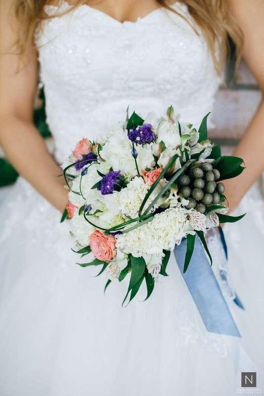 Фото 17092084 в коллекции Букеты наших невест - Цветочка - студия флористики