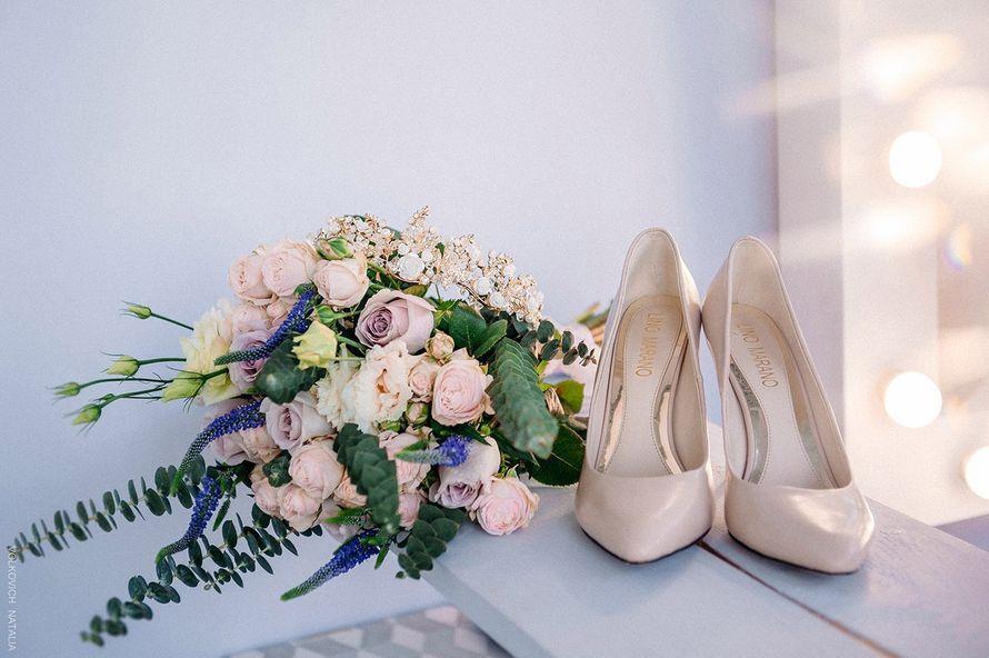 Букет невесты Татьяны - фото 17092114 Цветочка - студия флористики