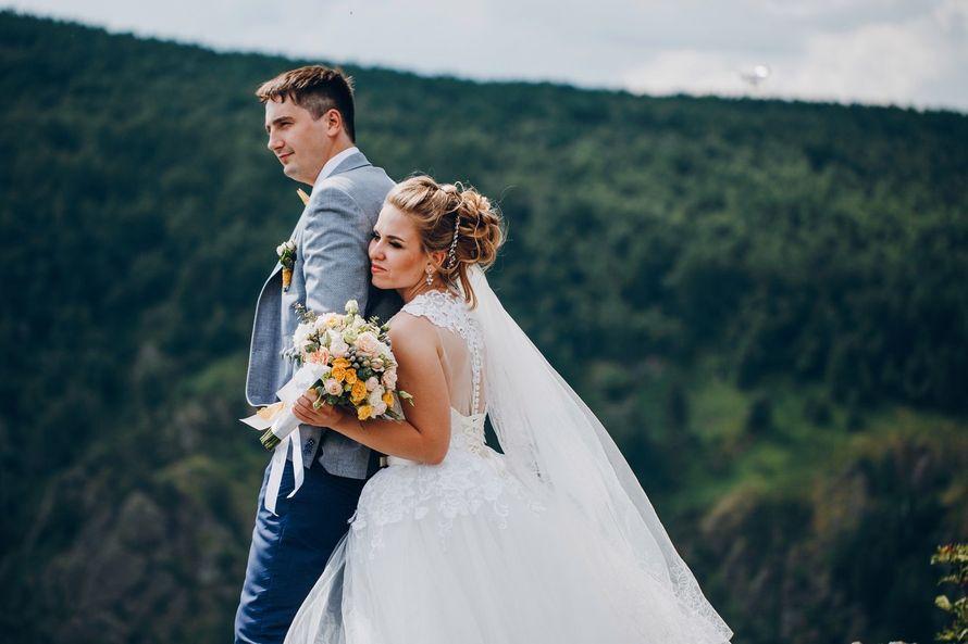 Букет невесты Дарьи - фото 17092172 Цветочка - студия флористики