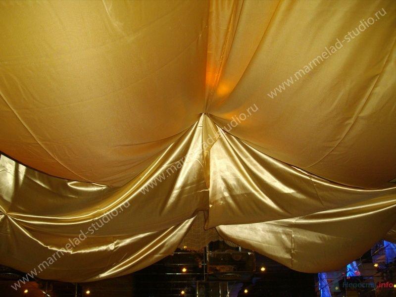 """Фото 25774 в коллекции Оформление свадьбы тканями - Студия праздника """"Мармелад"""""""
