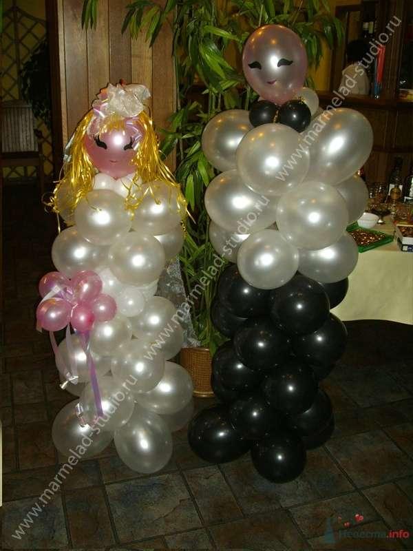 """Фото 26225 в коллекции Оформление свадьбы воздушными шарами - Студия праздника """"Мармелад"""""""