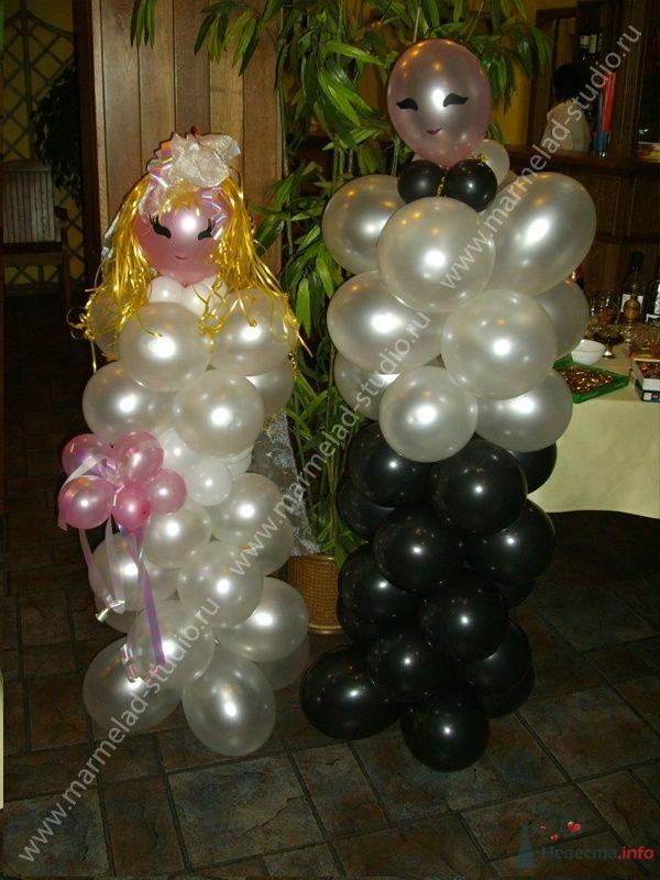 Фото 26225 в коллекции Оформление свадьбы воздушными шарами