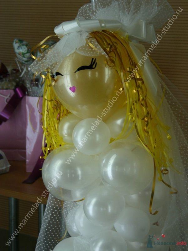 Фото 26252 в коллекции Оформление свадьбы воздушными шарами