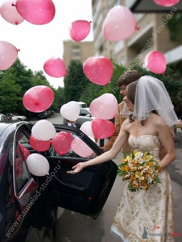 Фото 26260 в коллекции Оформление свадьбы воздушными шарами