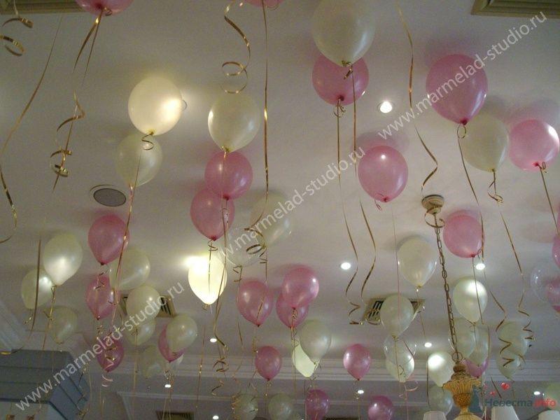 Фото 26299 в коллекции Оформление свадьбы воздушными шарами