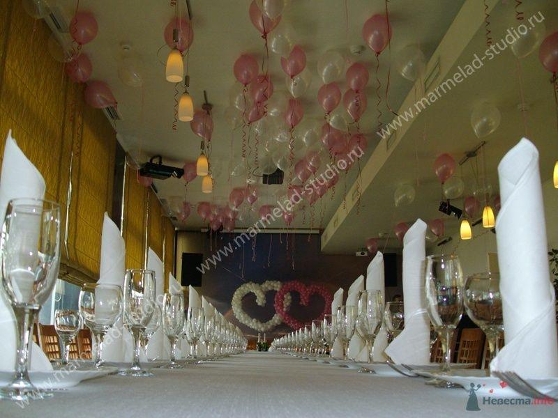 Фото 26326 в коллекции Оформление свадьбы воздушными шарами