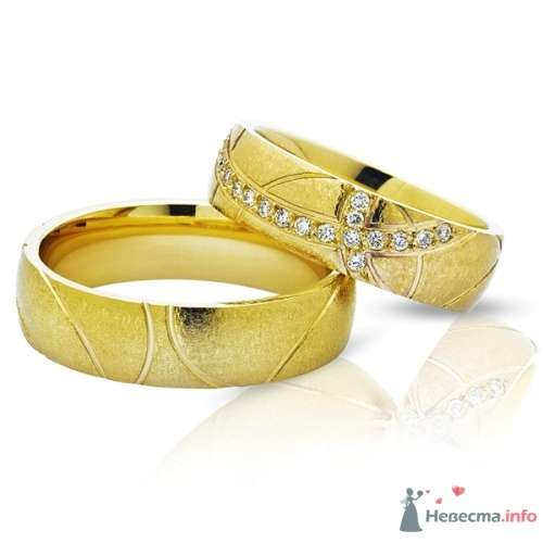 Обручальные кольца  Артикул 3373 - фото 12516 Ювелирный интернет-магазин Rings