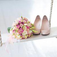 Нежный букет для прекрасной невесты Алины.