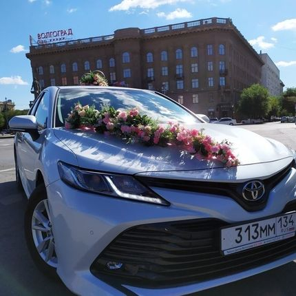Авто кортеж из автомобилей Toyota Camry New 2020