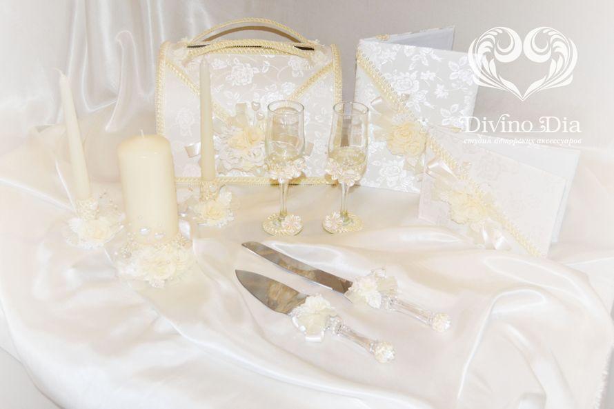 """Коллекция """"Ванильное очарование""""  - фото 1480135 Divino Dia - эксклюзивные свадебные аксессуары"""