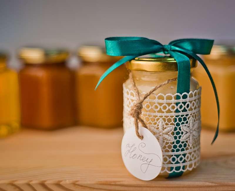 Баночки с медом на свадьбу своими руками 99