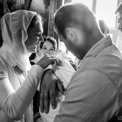 Фотосъёмка на крещение, 2-3 часа