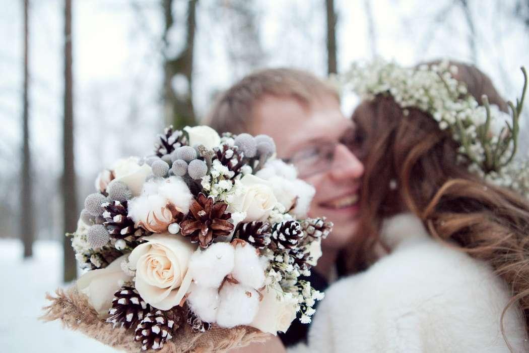 Цветов, зимний свадебный букет тюльпанов купить украина