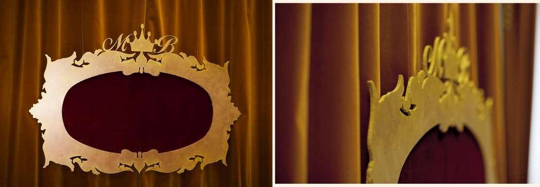 Президиум, рама в стиле барокко за молодыми - фото 1563885 Организатор свадеб Глуш Ольга
