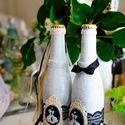 Наши свадбеные бутылки с бельгийским пивом
