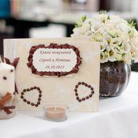 Кофейная свадьба книга пожеланий