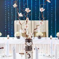 Кофейная свадьба композиция с корилусом