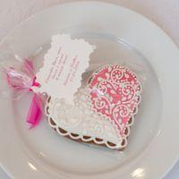 подарок для гостей пряник розовый