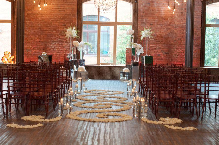 """лофт весенний белая свадьба выездная регистрация - фото 6763992 Студия флористики и декора """"Глориоза"""""""