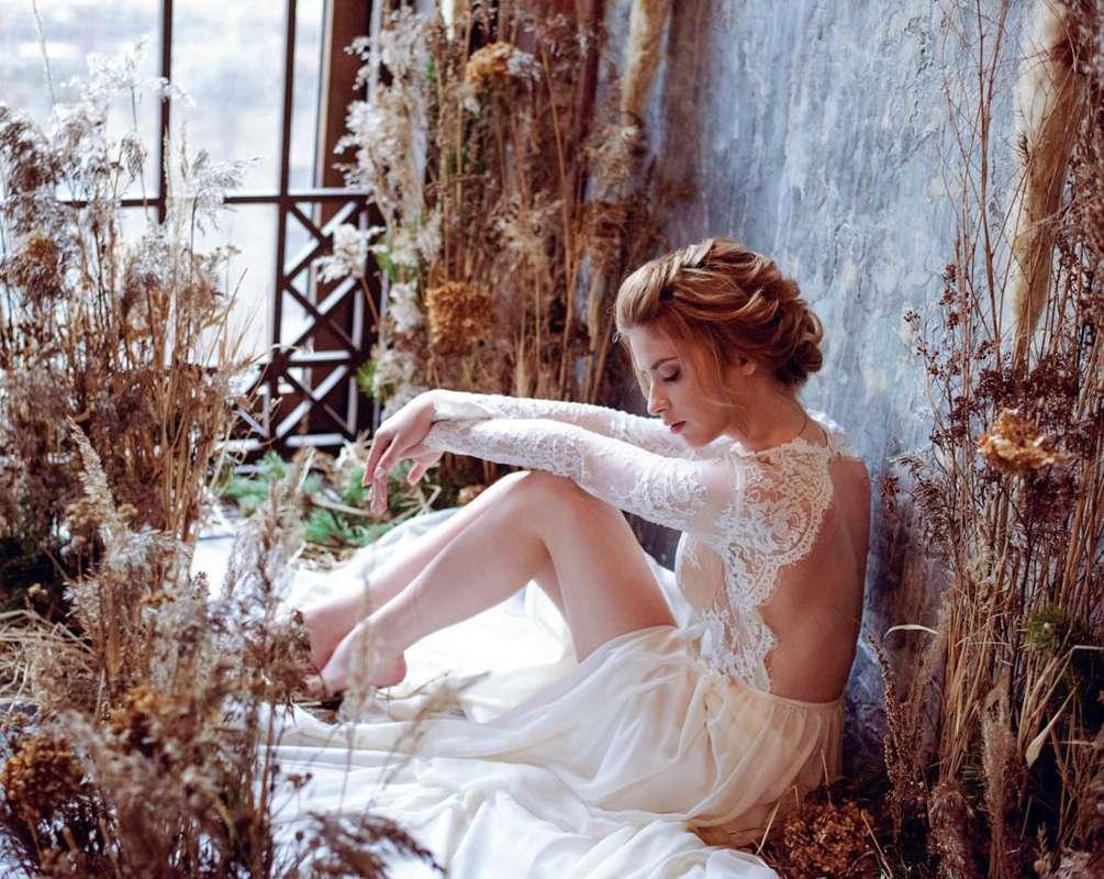 """Фото 17277304 в коллекции Утро невесты """"Травы и сухоцветы"""" в фотостудии Polygon - Студия флористики и декора """"Глориоза"""""""