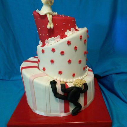 Падающий свадебный торт, цена за 1 кг