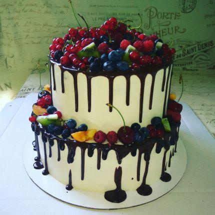 Нежный свадебный торт, цена за 1 кг