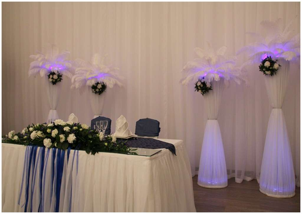 """Фото 1679883 в коллекции Сине-белая свадьба - """"Несен Студио"""" - свадьба продуманная до мелочей"""