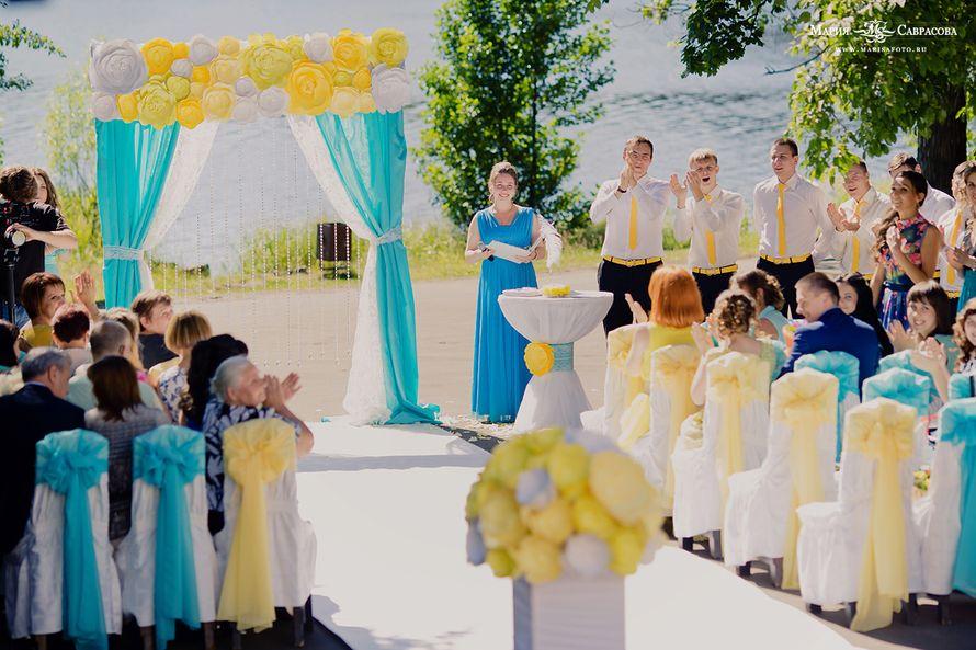 """Фото 2680417 в коллекции 12 июля 2014 Бирюза и Лимон - """"Несен Студио"""" - свадьба продуманная до мелочей"""
