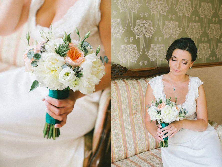 Фото 12273906 в коллекции Свадебный букет невесты - Мистер Пион by IRINA Burtceva Flowers&Decor