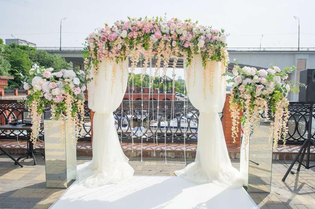 Прямоугольная арка в классическом стиле - фото 17316292 Premiumflor - декор и флористика