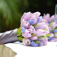 Мускари в Букете невесты