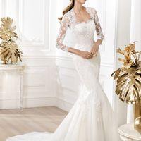 Свадебное платье, арт. Lace-061 Индивидуальный пошив 37000руб (+съемное болеро 4500руб)