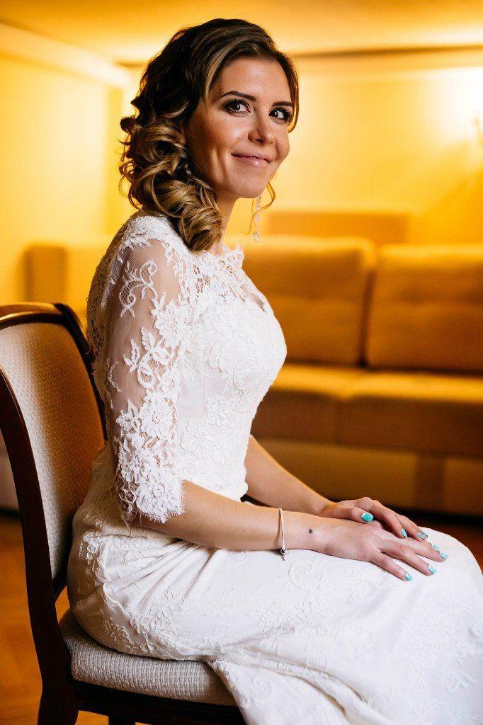 """Невеста Надежда в платье от One love♥One life КОПИРОВАНИЕ ФОТО ЗАПРЕЩЕНО! - фото 11608496 Свадебный салон """"One loveOne life"""""""