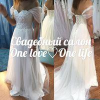 Нежнейшее платье Кларина сшито индивидуально для прекрасной Анны