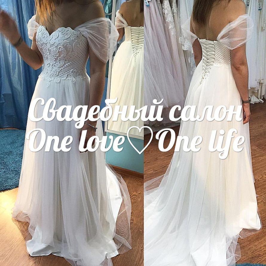 """Нежнейшее платье Кларина сшито индивидуально для прекрасной Анны - фото 12247016 Свадебный салон """"One loveOne life"""""""