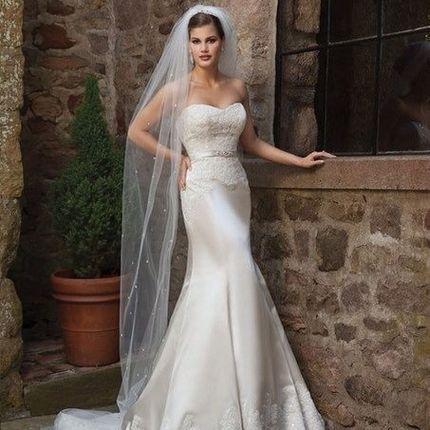 """Свадебное платье """"Потрясающее"""", арт.1023"""