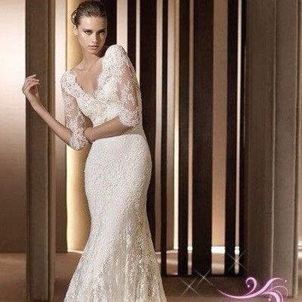 Свадебное платье А479