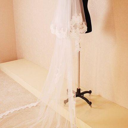 Свадебная фата А681