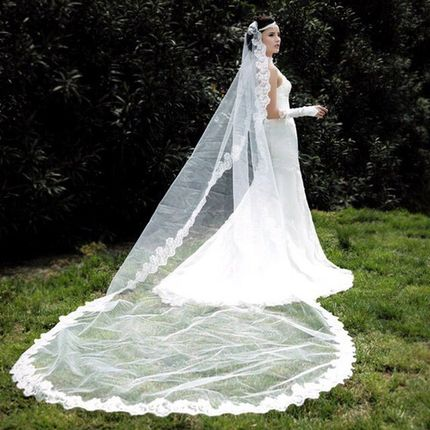 Свадебная фата  мод. А725