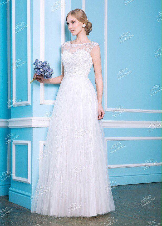 Свадебное платье - модель А802 в аренду