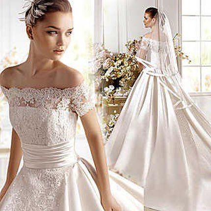 Свадебное платье А841 - прокат