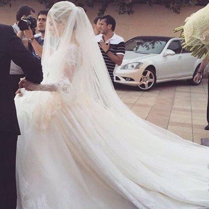 Свадебная фата А851