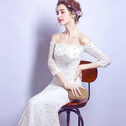 Свадебное платье - модель А858 в аренду