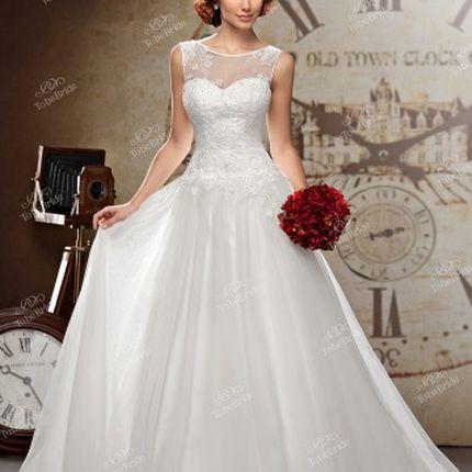 Свадебное платье - модель А862 в аренду