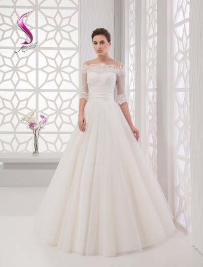 Свадебное платье - модель А865 в аренду
