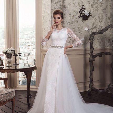 Свадебное платье  - модель А889 в аренду